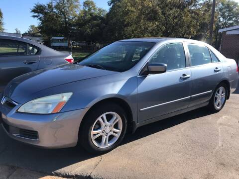 2007 Honda Accord for sale at Cherry Motors in Greenville SC