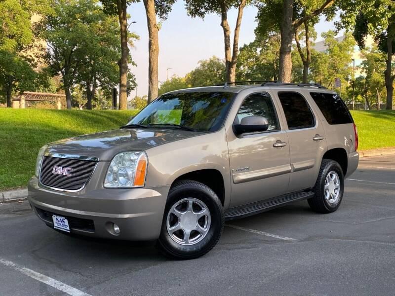 2007 GMC Yukon for sale at KAS Auto Sales in Sacramento CA