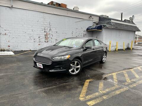 2015 Ford Fusion for sale at Santa Motors Inc in Rochester NY
