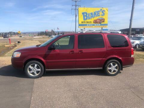 2005 Chevrolet Uplander for sale at Blake's Auto Sales in Rice Lake WI