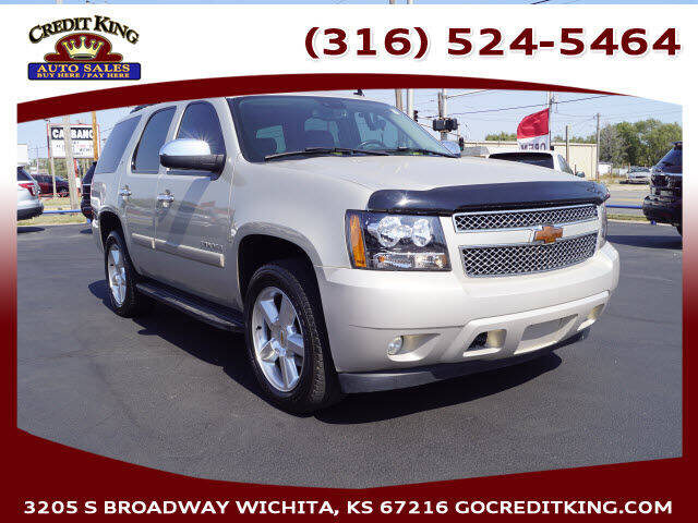 2007 Chevrolet Tahoe for sale at Credit King Auto Sales in Wichita KS