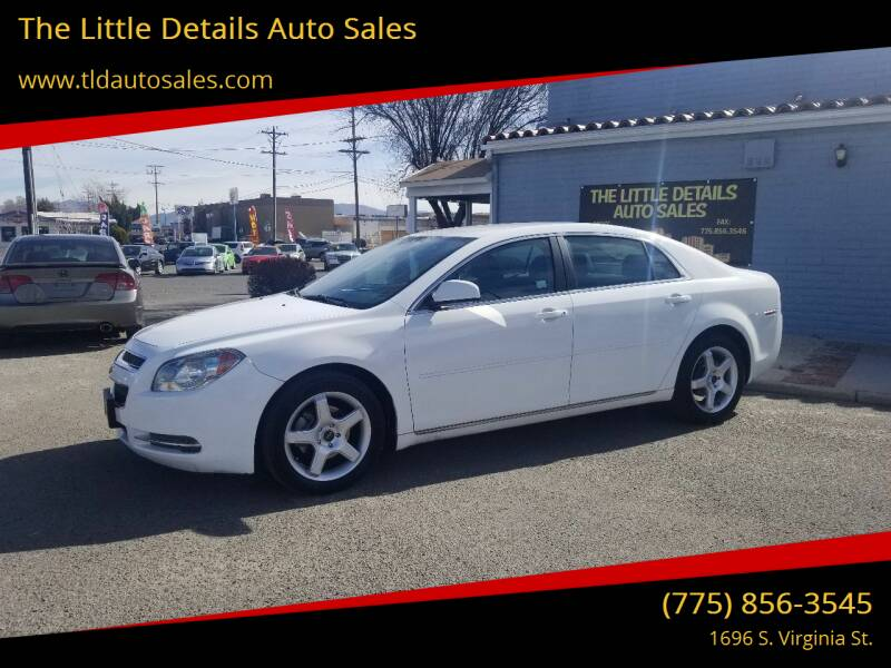 2010 Chevrolet Malibu for sale at The Little Details Auto Sales in Reno NV