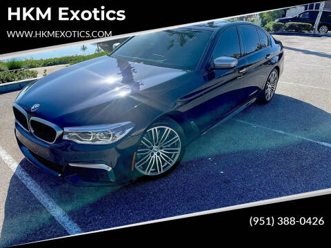 2018 BMW 5 Series for sale at HKM Exotics in Corona CA