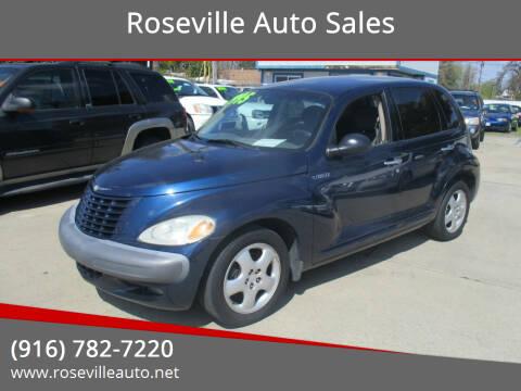 2002 Chrysler PT Cruiser for sale at Roseville Auto Sales in Roseville CA
