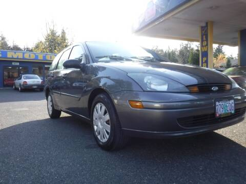 2004 Ford Focus for sale at Brooks Motor Company, Inc in Milwaukie OR