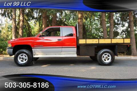 1997 Dodge Ram Pickup 2500 for sale at LOT 99 LLC in Milwaukie OR