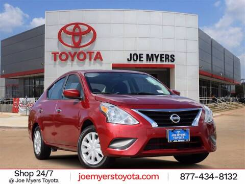 2018 Nissan Versa for sale at Joe Myers Toyota PreOwned in Houston TX