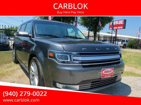 2017 Ford Flex for sale at CARBLOK in Lewisville TX