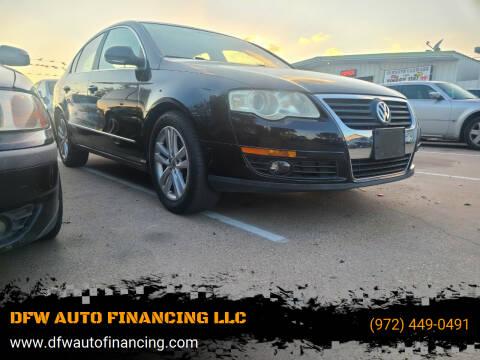 2009 Volkswagen Passat for sale at DFW AUTO FINANCING LLC in Dallas TX