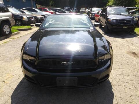 2014 Ford Mustang for sale at Moreland Motorsports in Conley GA