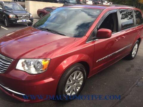 2016 Chrysler Town and Country for sale at J & M Automotive in Naugatuck CT