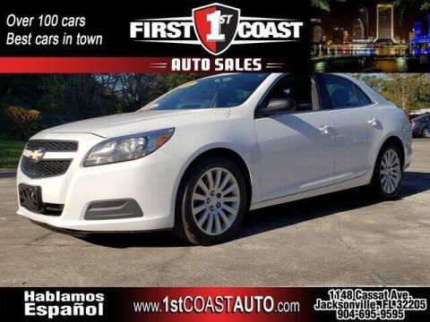 2013 Chevrolet Malibu for sale at 1st Coast Auto -Cassat Avenue in Jacksonville FL