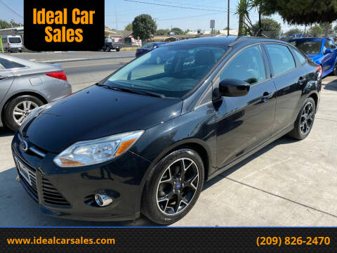 2012 Ford Focus for sale at Ideal Car Sales in Los Banos CA
