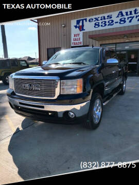 2010 GMC Sierra 1500 for sale at TEXAS AUTOMOBILE in Houston TX