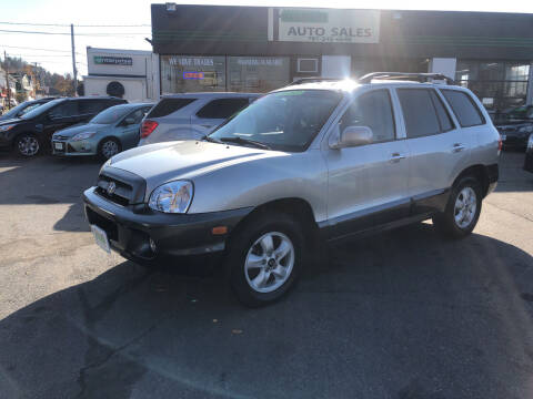 2005 Hyundai Santa Fe for sale at Wakefield Auto Sales of Main Street Inc. in Wakefield MA