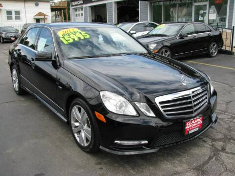 2012 Mercedes-Benz E-Class for sale at CLASSIC MOTOR CARS in West Allis WI