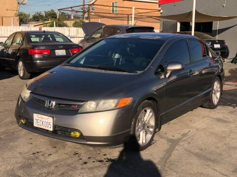 2007 Honda Civic for sale at Venture Auto Inc in South Gate CA