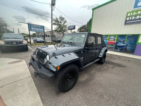2008 Jeep Wrangler Unlimited for sale at Bay City Autosales in Tampa FL