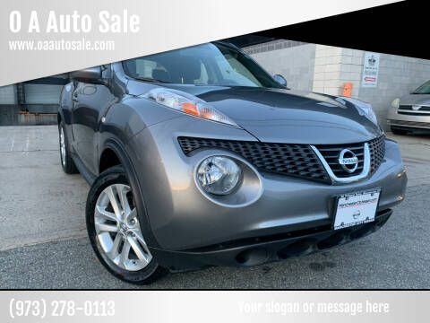 2012 Nissan JUKE for sale at O A Auto Sale in Paterson NJ