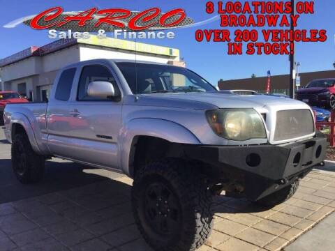 2005 Toyota Tacoma for sale at CARCO SALES & FINANCE in Chula Vista CA