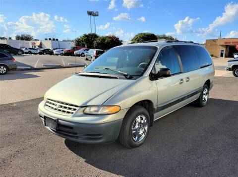 2000 Chrysler Grand Voyager for sale at Image Auto Sales in Dallas TX