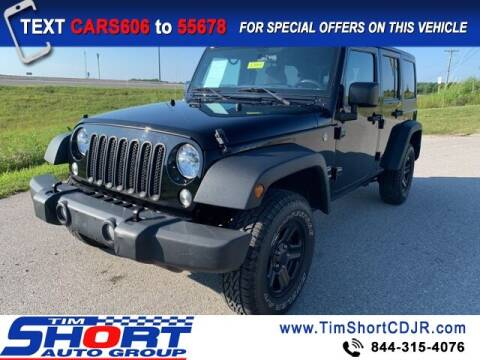 2017 Jeep Wrangler Unlimited for sale at Tim Short Chrysler in Morehead KY