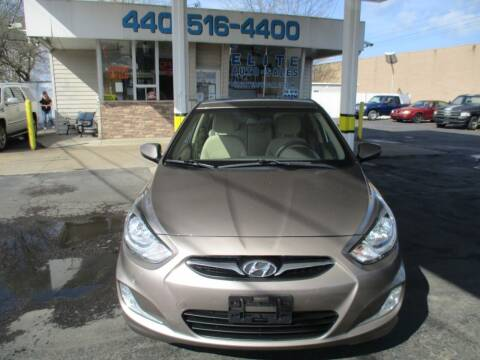 2012 Hyundai Accent for sale at Elite Auto Sales in Willowick OH