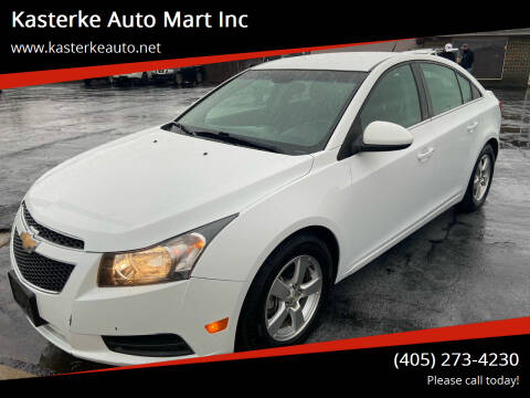 2014 Chevrolet Cruze for sale at Kasterke Auto Mart Inc in Shawnee OK