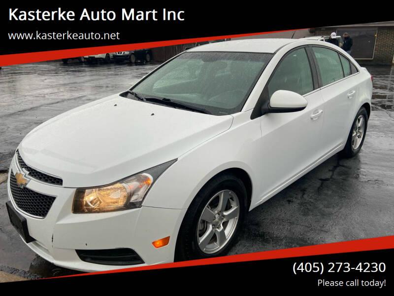2014 Chevrolet Cruze for sale at Kasterke Auto Mart Inc in Shawnee OK