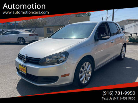 2012 Volkswagen Golf for sale at Automotion in Roseville CA