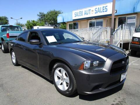 2014 Dodge Charger for sale at Salem Auto Sales in Sacramento CA