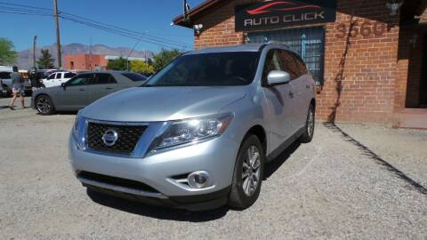 2015 Nissan Pathfinder for sale at Auto Click in Tucson AZ
