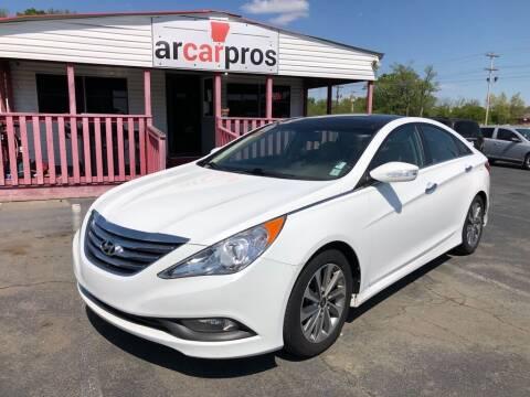 2014 Hyundai Sonata for sale at Arkansas Car Pros in Cabot AR