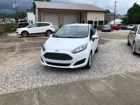2015 Ford Fiesta for sale at ADKINS PRE OWNED CARS LLC in Kenova WV