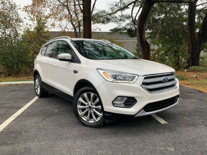 2017 Ford Escape for sale at Lux Car Sales in South Easton MA