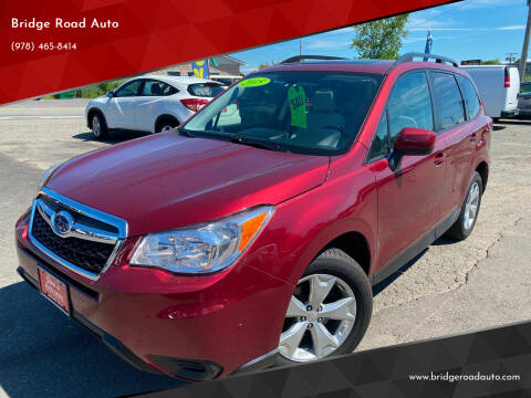2015 Subaru Forester for sale at Bridge Road Auto in Salisbury MA