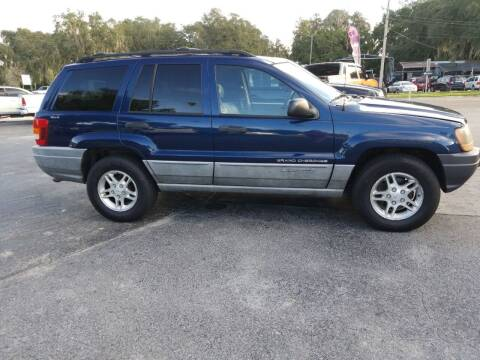 2000 Jeep Grand Cherokee for sale at BSS AUTO SALES INC in Eustis FL