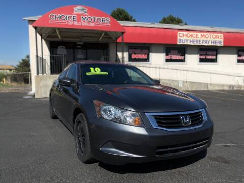 2010 Honda Accord for sale at Choice Motors of Salt Lake City in West Valley  City UT