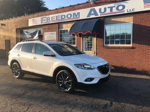 2015 Mazda CX-9 for sale at FREEDOM AUTO LLC in Wilkesboro NC