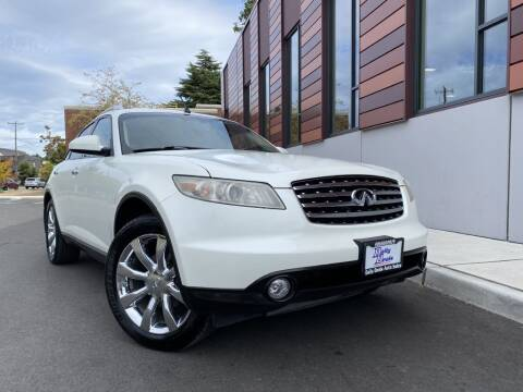 2004 Infiniti FX45 for sale at DAILY DEALS AUTO SALES in Seattle WA