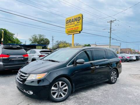 2015 Honda Odyssey for sale at Grand Auto Sales in Tampa FL