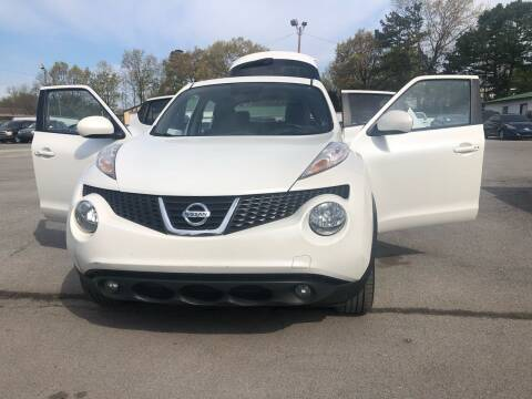 2013 Nissan JUKE for sale at Morristown Auto Sales in Morristown TN