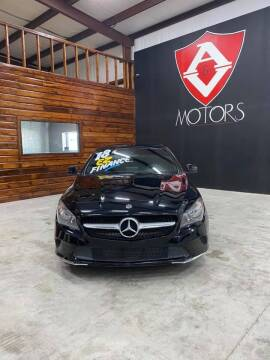 2018 Mercedes-Benz CLA for sale at A & V MOTORS in Hidalgo TX