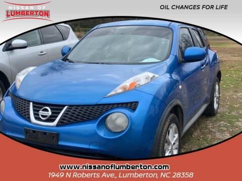 2011 Nissan JUKE for sale at Nissan of Lumberton in Lumberton NC