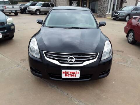 2012 Nissan Altima for sale at NORTHWEST MOTORS in Enid OK