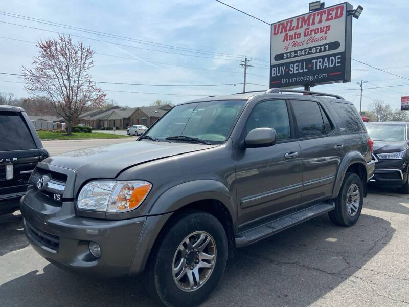 2006 Toyota Sequoia for sale at Unlimited Auto Group in West Chester OH