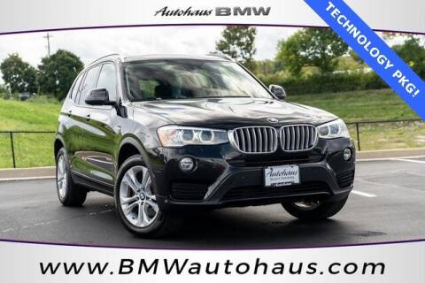 2017 BMW X3 for sale at Autohaus Group of St. Louis MO - 3015 South Hanley Road Lot in Saint Louis MO