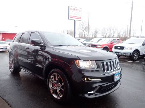 2012 Jeep Grand Cherokee for sale at Marty's Auto Sales in Savage MN