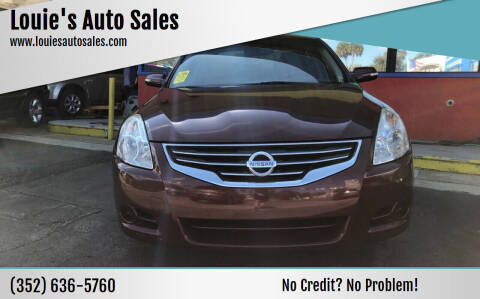2011 Nissan Altima for sale at Louie's Auto Sales in Leesburg FL