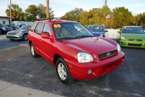 2004 Hyundai Santa Fe for sale at J Linn Motors in Clearwater FL
